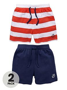 ladybird-boys-jersey-shorts-stripenavy-2-pack