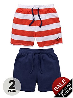 ladybird-boys-jersey-shorts-stripenavy-2-pack
