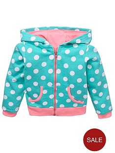ladybird-girls-spot-hoodie-with-neon-pink-trims-12-months-to-7-years