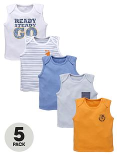 ladybird-baby-boys-ready-steady-go-vests-5-pack