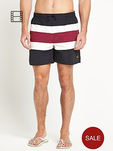 fred-perry-mens-stripe-swim-shorts