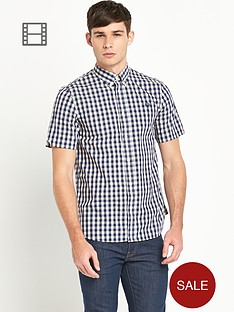fred-perry-mens-pastel-gingham-shirt