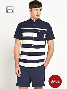 fred-perry-mens-pique-stripe-shirt