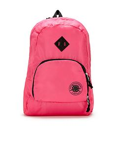 pop-accessories-foldaway-backpack-pink