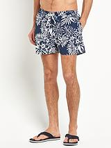 Mens Hawaiian Print Shorts