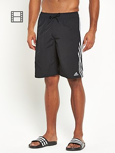 adidas-mens-3-stripe-colour-block-swim-shorts