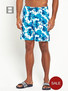 adidas-mens-floral-print-swim-shorts