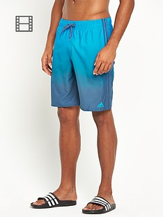 adidas-mens-3-stripe-fade-swim-shorts