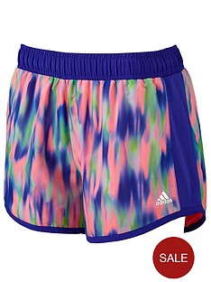 adidas-young-girls-patterned-shorts