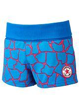 Youth Girls Chuck Patch Giraffe Print Shorts