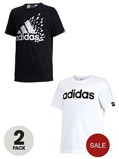 adidas-young-boys-tees-2-pack