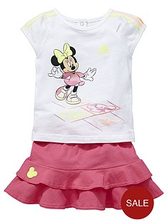 adidas-baby-girl-disney-skirt-set