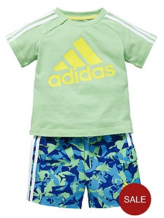 adidas-baby-boy-beach-shorts-set