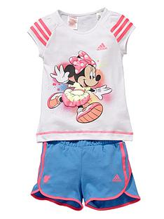 adidas-younger-girls-disney-shorts-set-2-piece