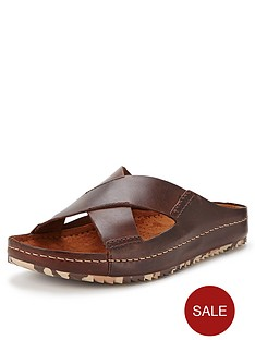 clarks-netrix-cross-leather-mules