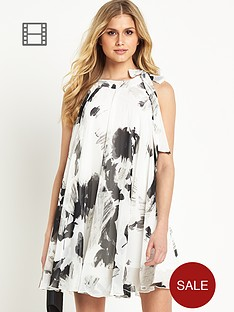 definitions-monochrome-print-swing-dress