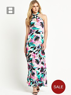 definitions-halter-neck-printed-maxi-dress