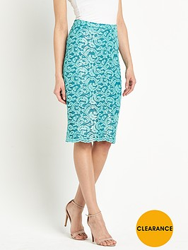 definitions-metallic-lace-midi-skirt
