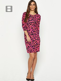 savoir-printed-ity-mid-length-dress