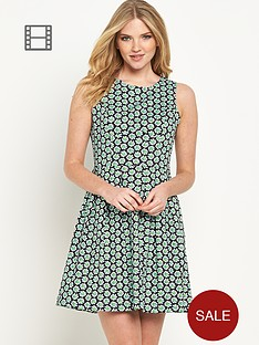joe-browns-daisy-print-skater-dress