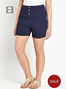 so-fabulous-high-waist-denim-shorts