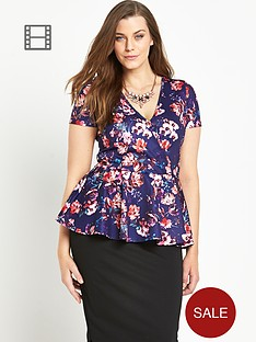 so-fabulous-wrap-front-print-peplum-top