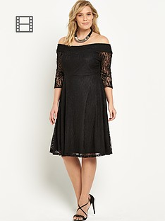 so-fabulous-lace-bardot-skater-dress