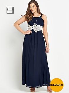 ax-paris-curve-crochet-maxi-dress