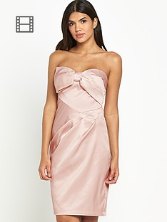 lipsy-vip-bow-bandeau-dress