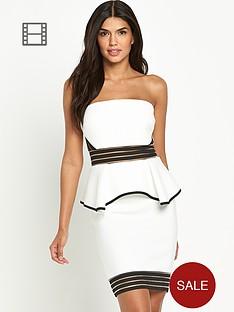 lipsy-bandeau-peplum-dress