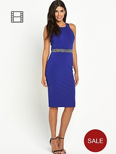 little-mistress-bandeau-halter-midi-dress