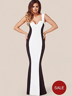 jessica-wright-natalie-monochrome-maxi-dress
