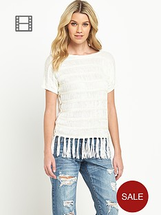 south-fringed-hem-jumper