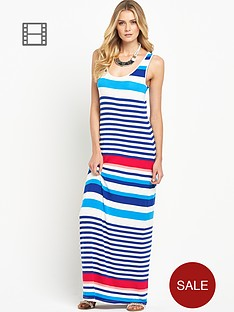south-racer-back-striped-maxi-dress