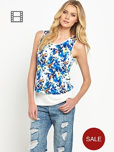 south-floral-print-tiered-vest-top