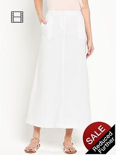 south-linen-maxi-skirt-white