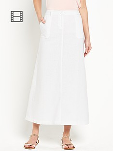 south-linen-maxi-skirt-white
