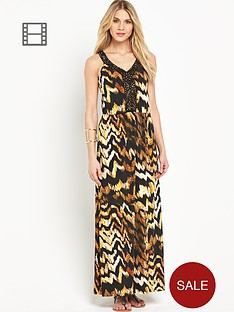 south-embellished-animal-print-maxi-dress