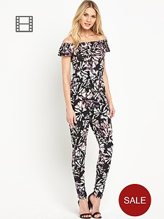 south-floral-print-bardot-jumpsuit