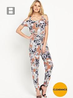 south-floral-print-cut-out-shoulder-jumpsuit