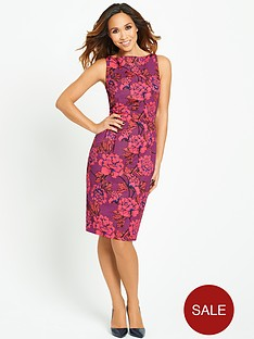 myleene-klass-bright-floral-pencil-dress