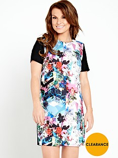 coleen-abstract-printed-dress
