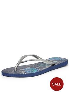 havaianas-navy-printed-sole-flip-flops