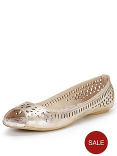 joe-browns-pretty-peep-toe-ballerina-shoes