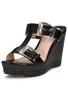 moda-in-pelle-peyton-buckle-wedge-sandals