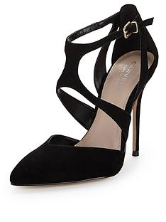 carvela-gabrielle-two-part-black-court-shoes