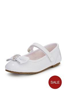 ladybird-della-younger-girls-diamante-ballerinas