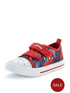 spiderman-canvas-shoes