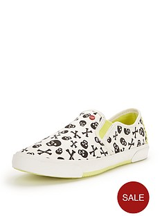 ugg-australia-kids-i-heart-slip-on-skulls