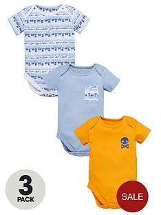 ladybird-baby-boys-short-aztec-bodysuits-3-pack